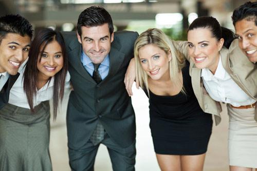 Menschengruppe in Consulting tecnovum AG